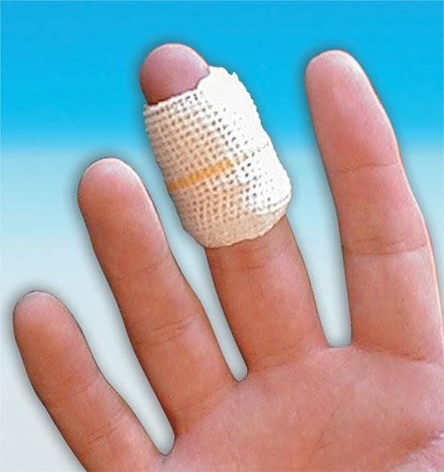 Finger Wound Dressing No.7