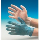 Vinyl Gloves Blue (M)