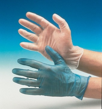 Vinyl Gloves (M) Powder Free