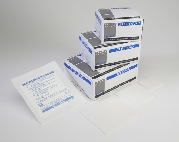 Steropad Strl. Non/St. Pad 7.5cm x 7.5cm