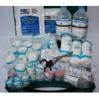 First Aid Kit 26 - 50 persons (with Burns & Eye Wash)
