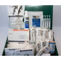 Large Home First Aid Kit inc. Burns Kit