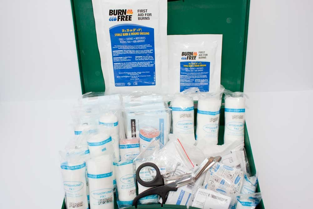 First Aid Kit 11 - 25 persons (with Burns)