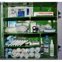 Large First Aid Wall Mounted Cabinet